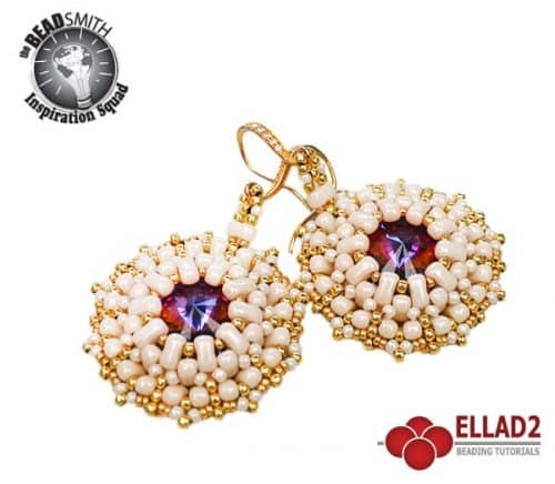 Beading Tutorial Bi-Bo Earrings by Ellad2