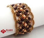 beading-about me-maroon bracelet