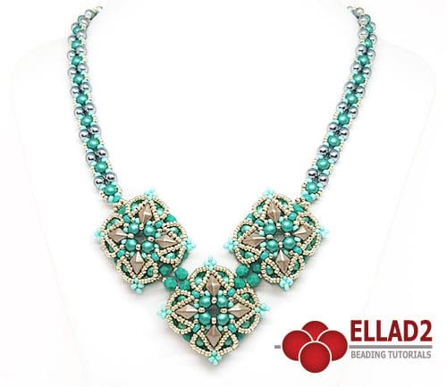 Beading Tutorial Tiga Necklace by Ellad2