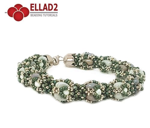 Beading Tutorial Zana Bracelet by Ellad2