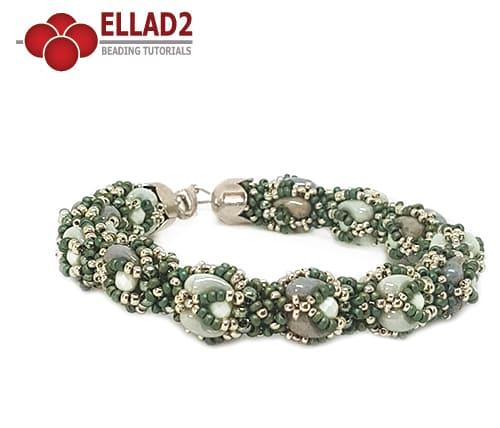Beading Tutorial Zana Bracelet by Ellad2