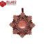 Beading Tutorial Everly Flower Pendant by Ellad2