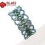 Beading Tutorial Ginko Bracelet by Ellad2