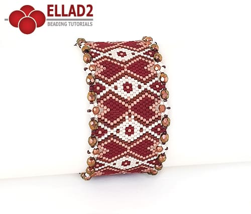 Beading Pattern Bracelet No15 by Ellad2