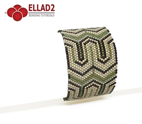 Beading pattern Bracelet No19 by Ellad2