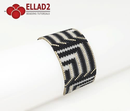 Beading pattern Bracelet No20 by Ellad2