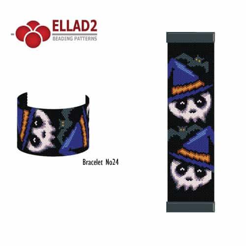 Halloween-skull-Bracelet-beading-pattern-by-Ellad2