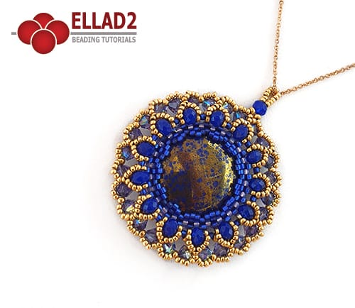 Beading Tutorial Nuku pendant by Ellad2
