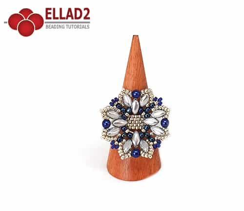 Beading Tutorial Makiri Ring by Ellad2