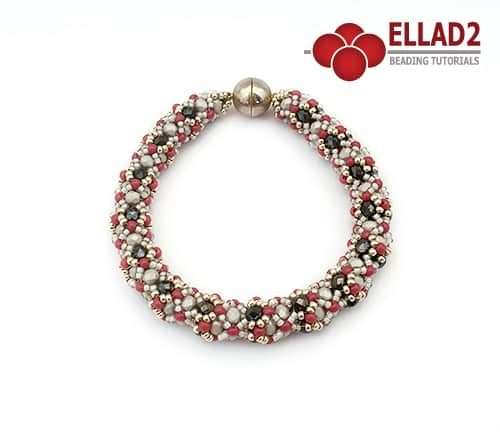 Ellad2 Beaded Jewelry -Monet bracelet