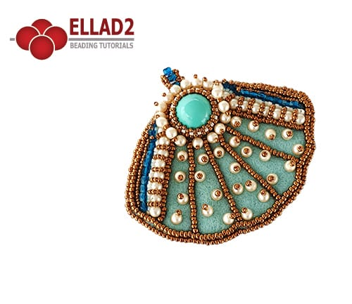 Bead-Embroidery-Royal-Shell-Pendant-by-Ellad2
