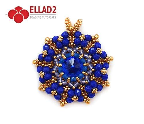 Ellad2 Beaded Jewelry-Maramu-Pendant